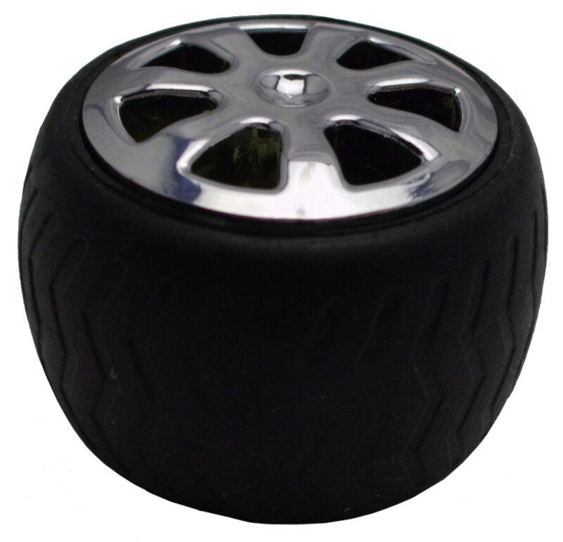 Mancave Tyre Rim Knob Byw Ld 084 Blkslv 6