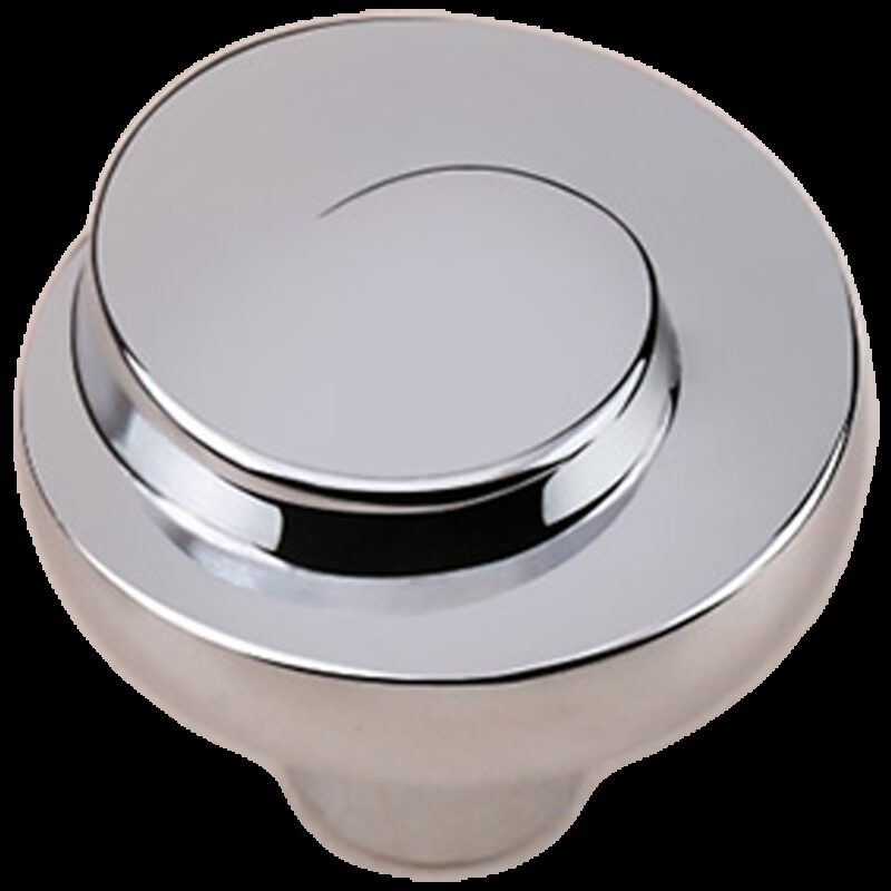 Cordoba Collection Nautilus Spiral Polished Chrome 30mm Knob