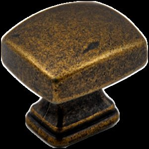 Small Town Collection Bronze 30mm Rectangle Knob
