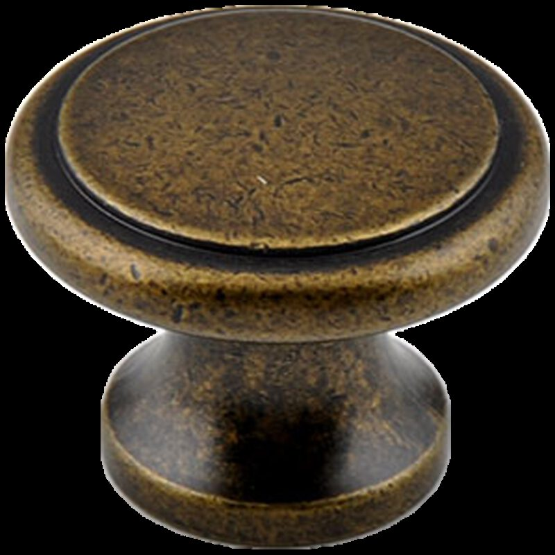 Small Town Collection Bronze 32mm Fluted Round Knob