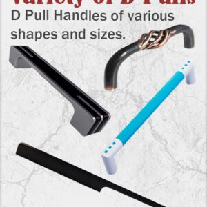 Cupboard D Pull Handles