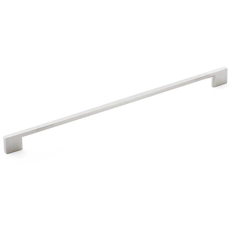 Furnware Dorset Contemporary Livorno Dull Brushed Nickel 320mm D Handle Dst M3163 320 Dbr 1