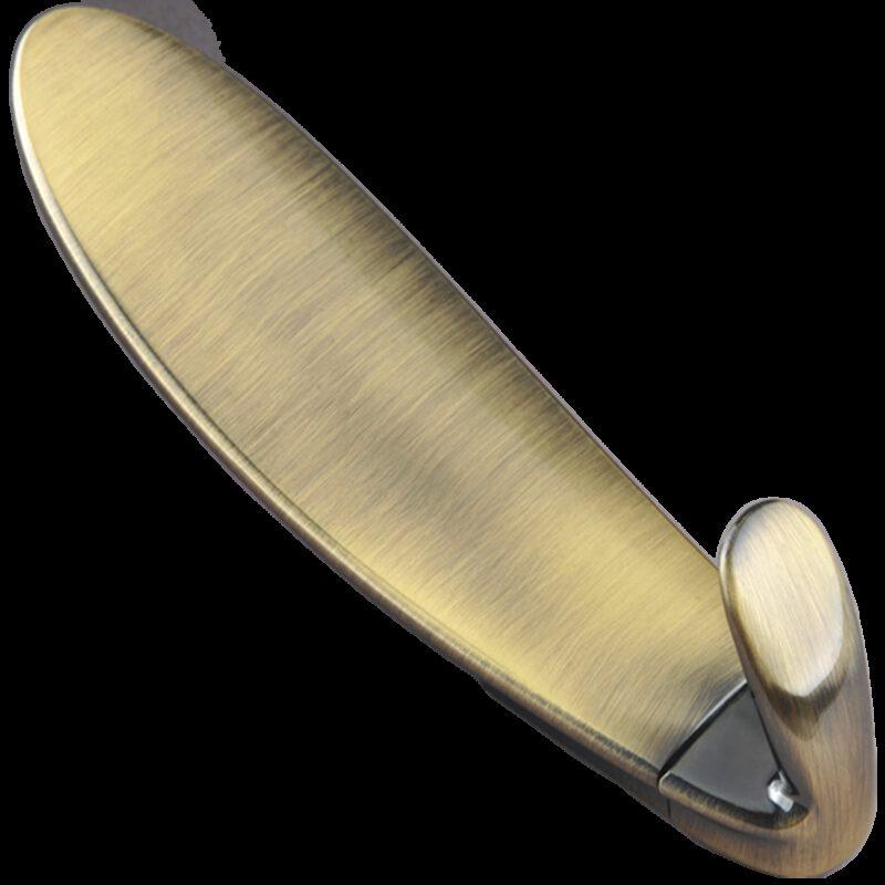Tavola De Surfboard Antique Brass 152mm Coat Hook