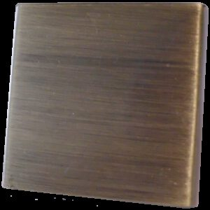 Celosia Collection Light Brushed Bronze 30mm Flat Square Knob