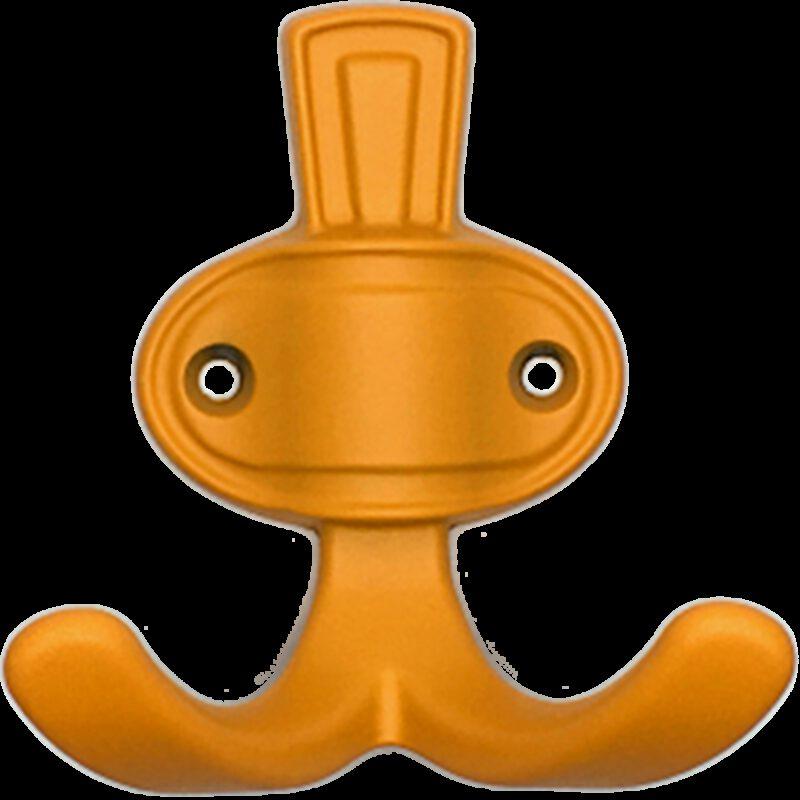 3969 Vibrante Patera Naranja 32mm Orange Split Coat Hook