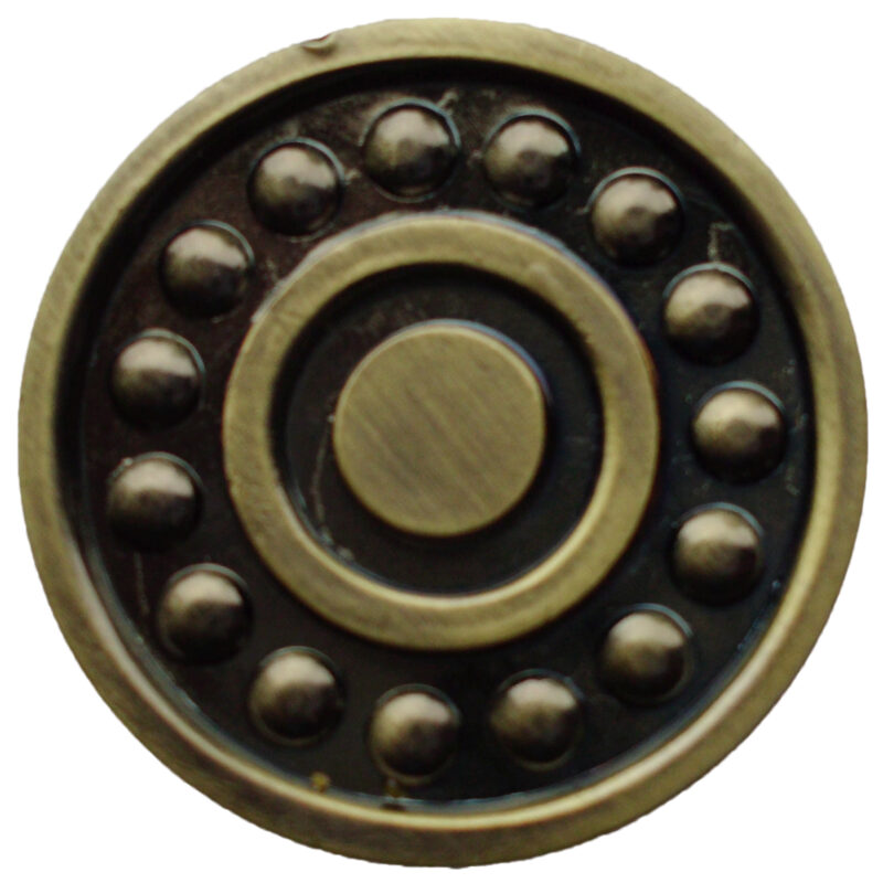 Ball Bearing Antique Bronze 31mm Round Knob Byw Plm 508 7057 Abz