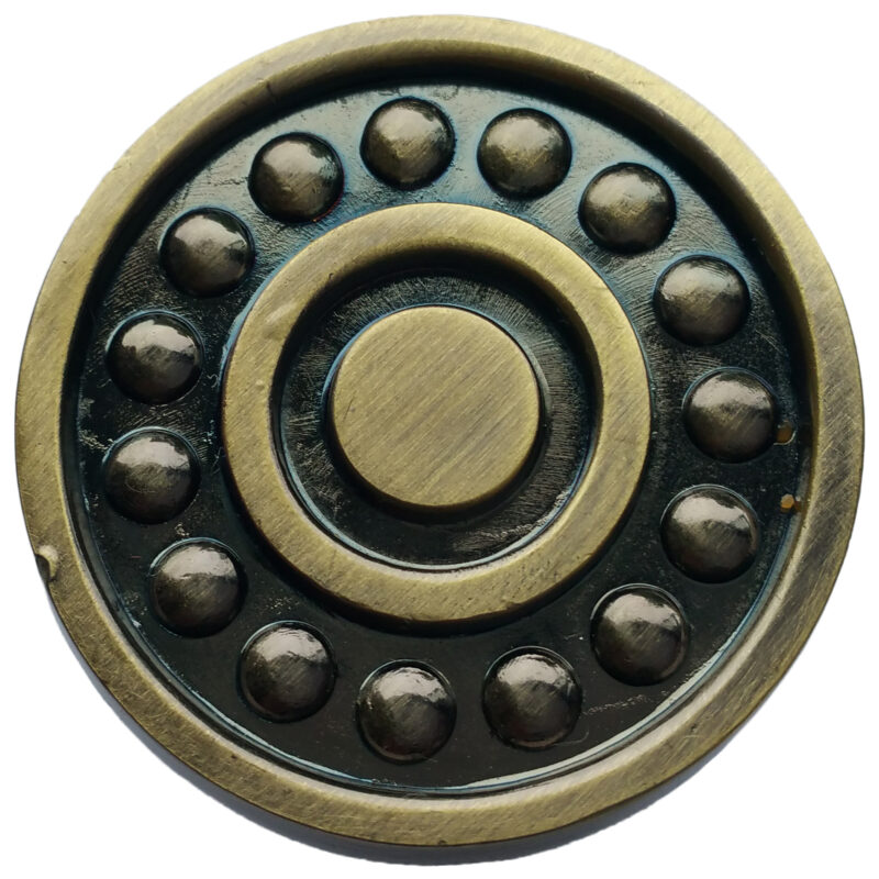 Ball Bearing Antique Bronze 31mm Round Knob Byw Plm 508 7057 Abz2