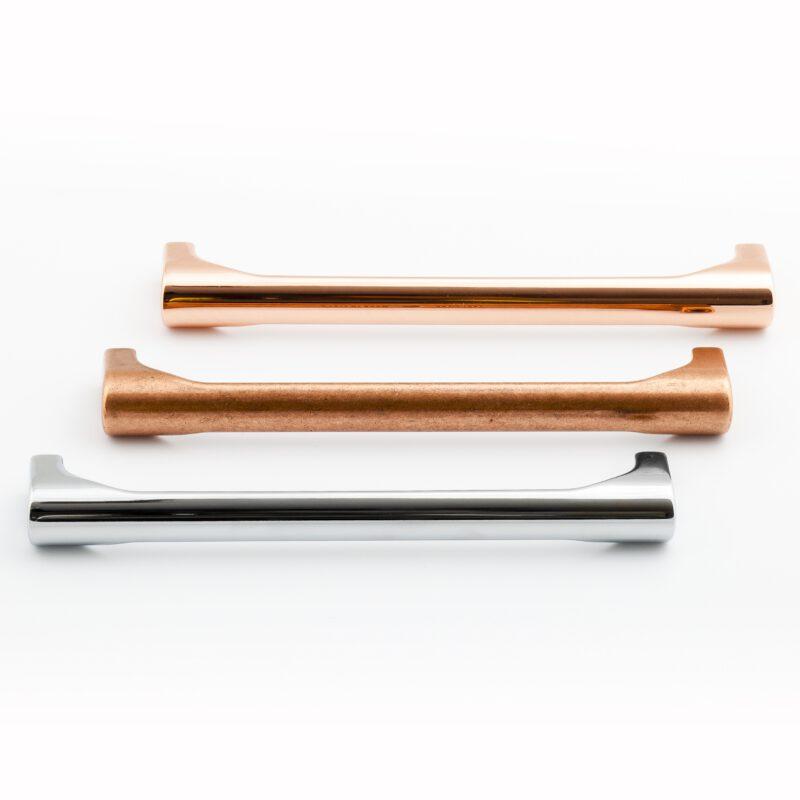 Castella Statement Terrace Bright Copper 160mm D Pull Handle