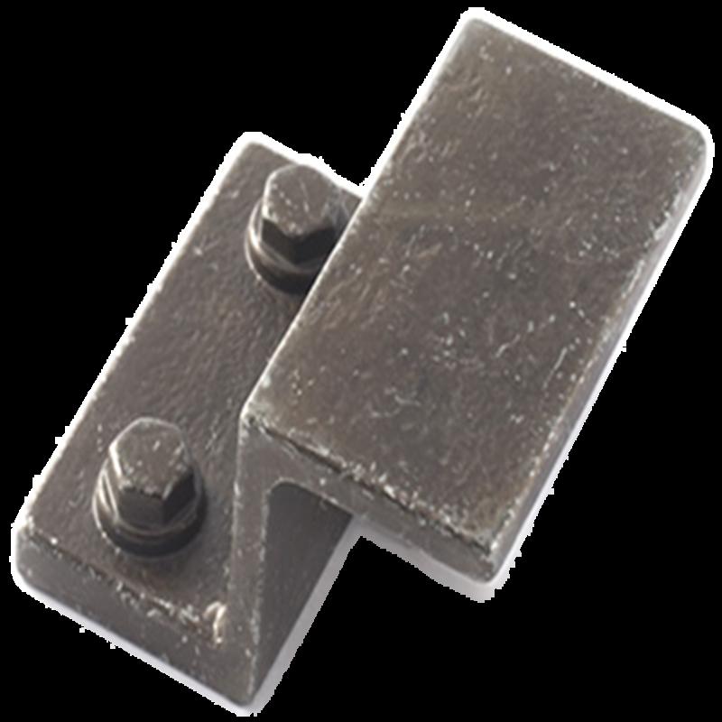 Castella Artisan Hammer Antique Black 032mm Pull Handle 172 032 01 1