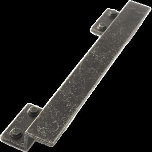 Castella Artisan Hammer Antique Black 224mm Pull Handle 172 224 01 1