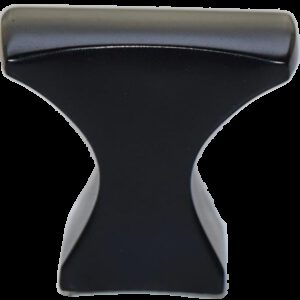 4327 Sencillo Eleganta Aspero Matte Black 32mm Concave T Knob