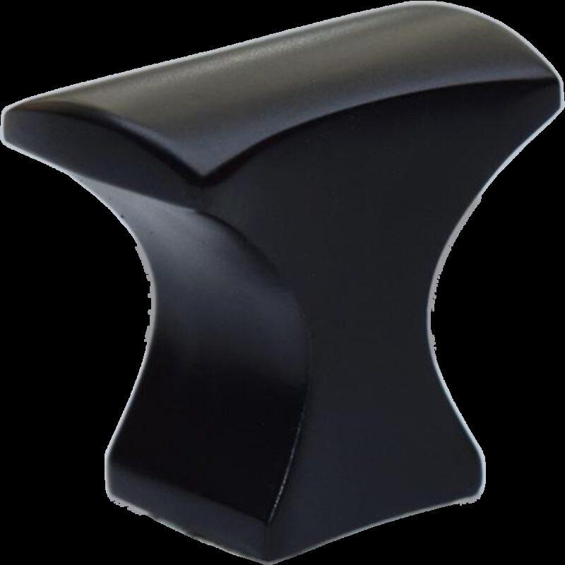 Sencillo Eleganta Aspero Matte Black 32mm Concave T Knob