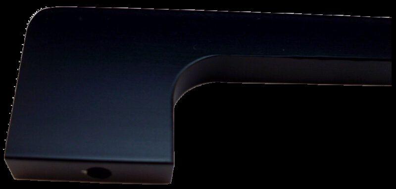 4341 Sencillo Eleganta Tegan Matte Black 256mm Bar Handle
