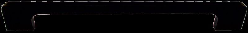 4343 Sencillo Eleganta Tegan Matte Black 256mm Bar Handle