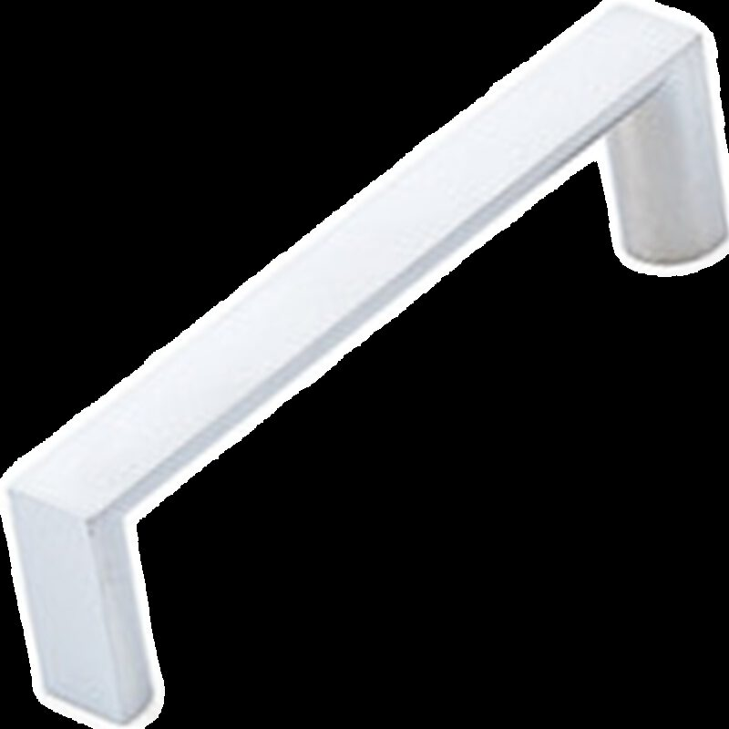 Furnware Dorset Dallas Collection Satin Chrome 96mm Square D Pull Handle