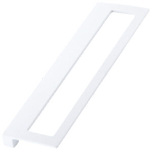 Furnware Dorset Cosenza Collection 160mm White Rectangle Pull Handle Dst K356 160 Wh
