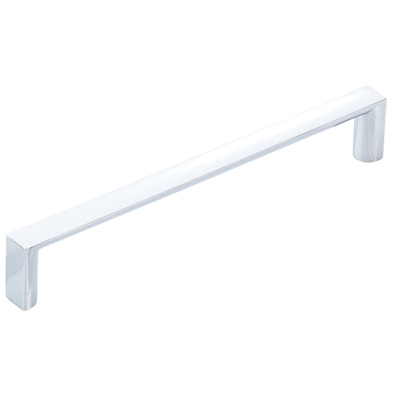 Furnware Dorset Dallas Collection Chrome Plated 160mm Square D Pull Handle Dst Fdh160 Cp 1