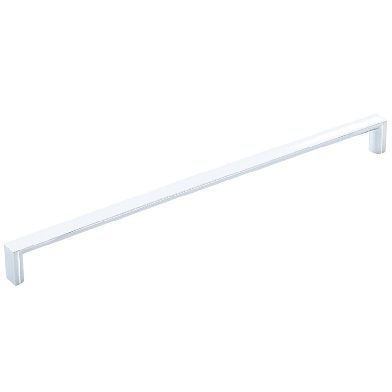 Furnware Dorset Dallas Collection Chrome Plated 448mm Square D Pull Handle Dst Fdh448 Cp 1