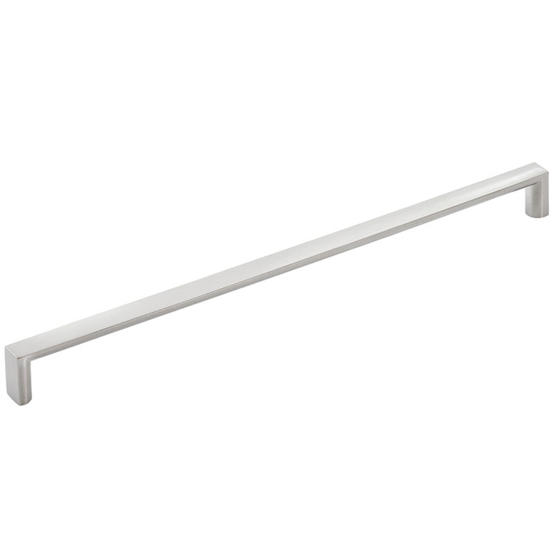 Furnware Dorset Dallas Collection Dull Brushed Nickel 448mm Square D Pull Handle Dst Fdh448 Dbr 1