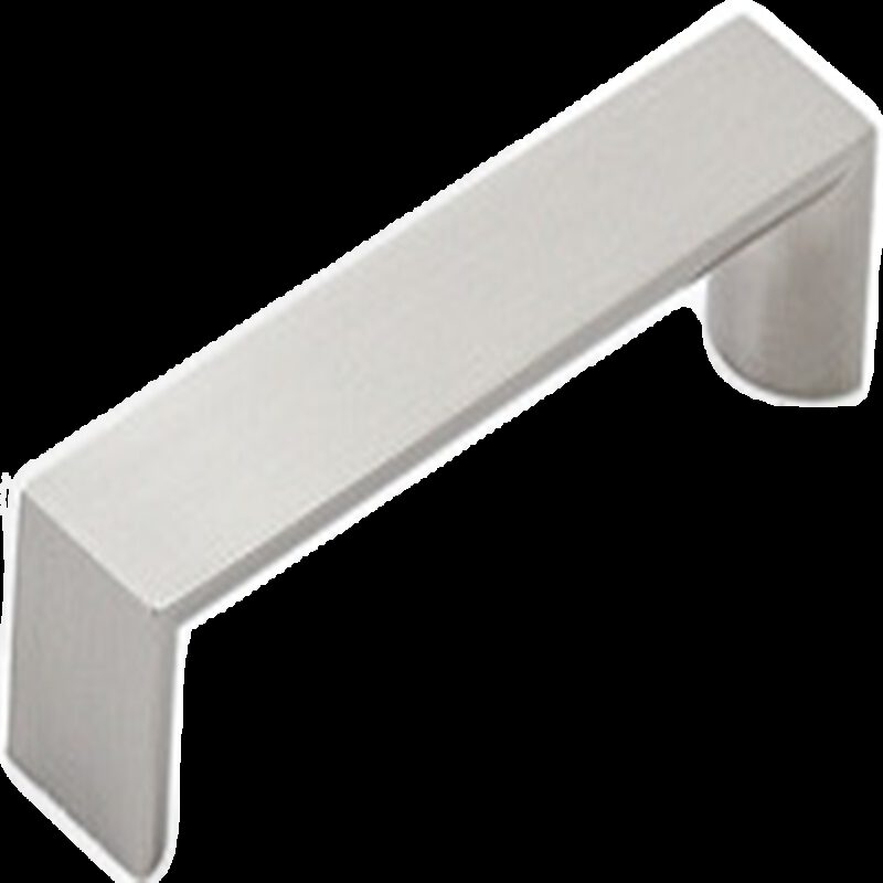 Furnware Dorset Boston Collection Dull Brushed Nickel 96mm Wide Square D Pull Handle