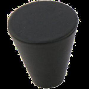 Furnware Dorset Evora Collection Black 19mm Small Cone Knob
