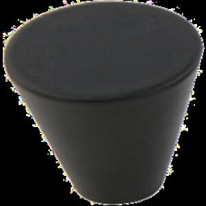 Furnware Dorset Evora Collection Black 26mm Large Cone Knob