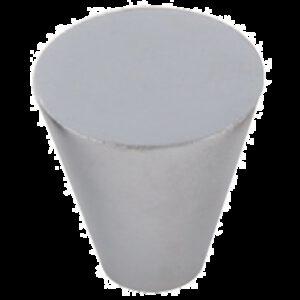 Furnware Dorset Evora Collection Satin Chrome 19mm Small Cone Knob