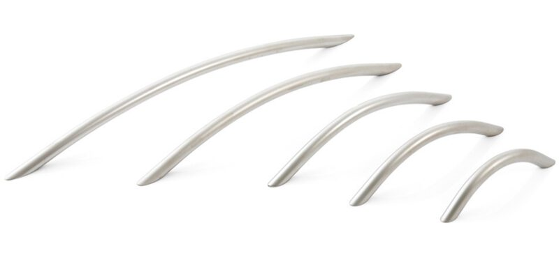 4806 Furnware Dorset Locarno Satin Nickel 160mm Bow C Pull Handle