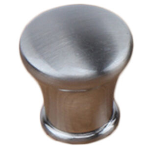 Brushed Nickel 28mm Round Concave Edge Knob Fdm 7057 28 Brn Ch