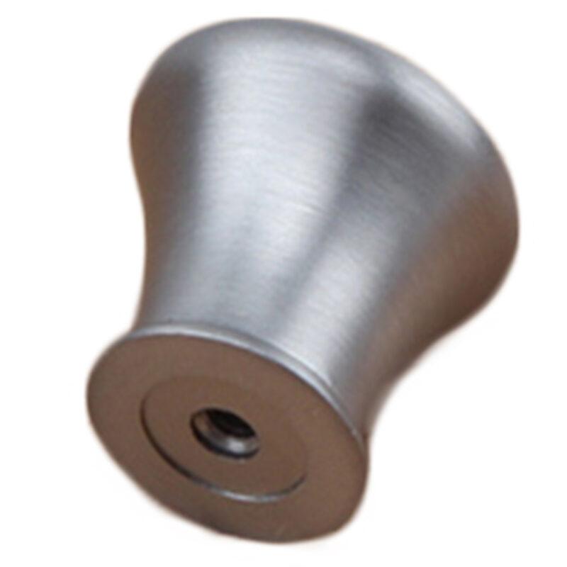 Brushed Nickel 28mm Round Concave Edge Knob Fdm 7057 28 Brn Ch2