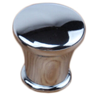 Chrome Plated 28mm Round Concave Edge Knob Fdm 7057 28 Cp Ch