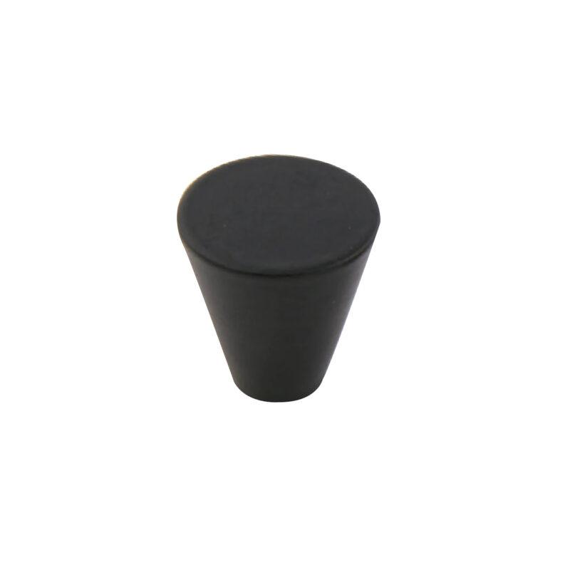 Furnware Dorset Evora Black 19mm Cone Knob Dst Dc1219 Bl 1