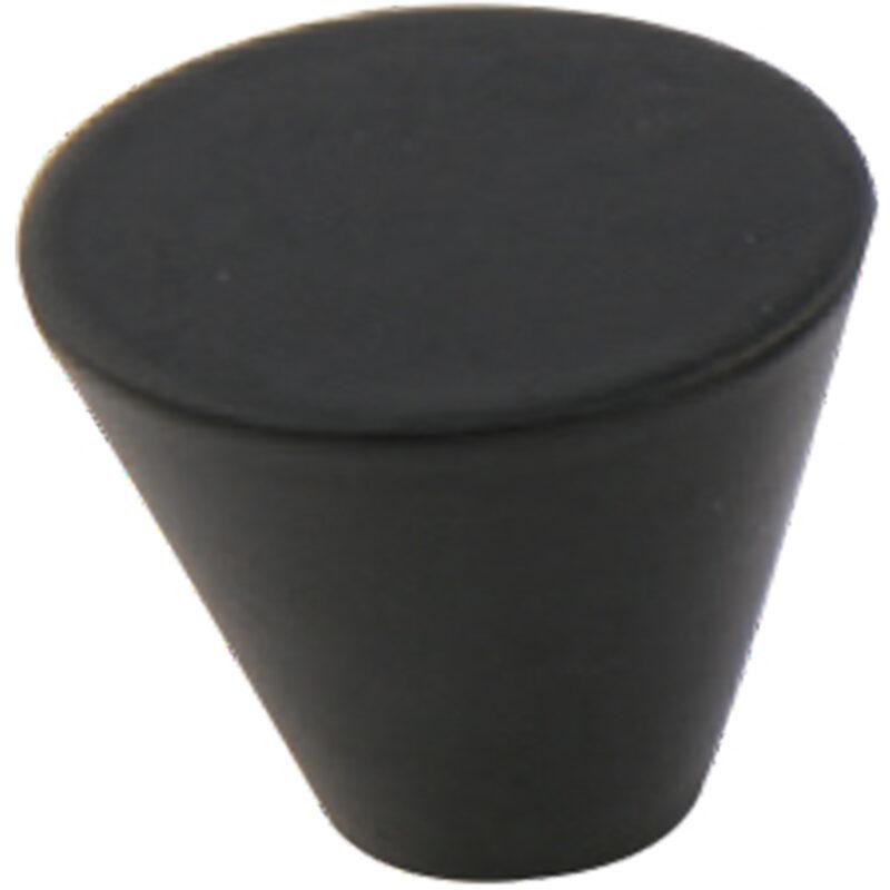 Furnware Dorset Evora Black 26mm Cone Knob Dst Dc1226 Bl 2