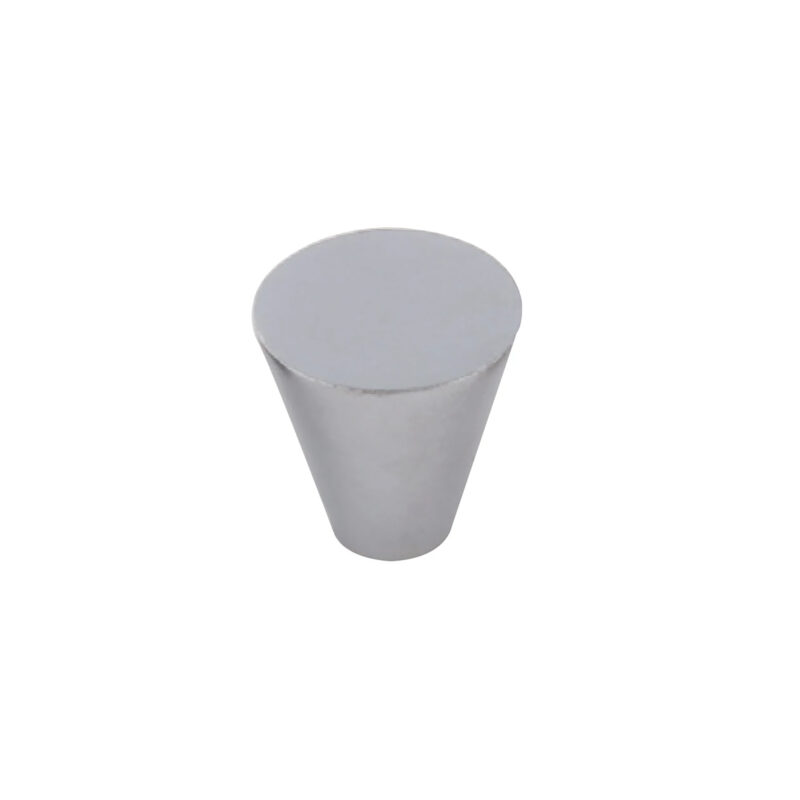 Furnware Dorset Evora Satin Chrome 19mm Cone Knob Dst Dc1219 Sc 1