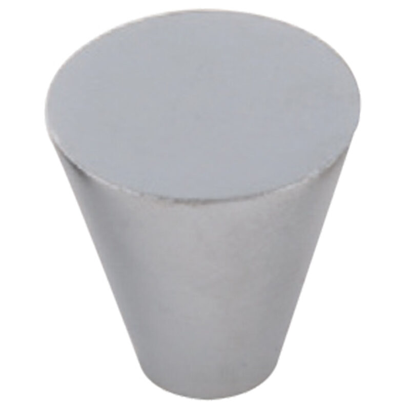 Furnware Dorset Evora Satin Chrome 19mm Cone Knob Dst Dc1219 Sc 2