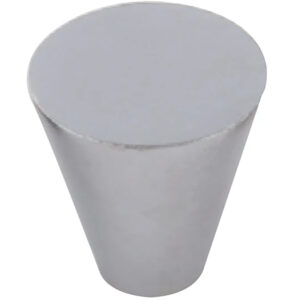 Furnware Dorset Evora Satin Chrome 19mm Cone Knob Dst Dc1219 Sc