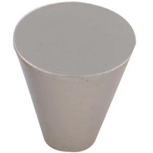 Furnware Dorset Evora Satin Nickel 19mm Cone Knob Dst Dc1219 Sn