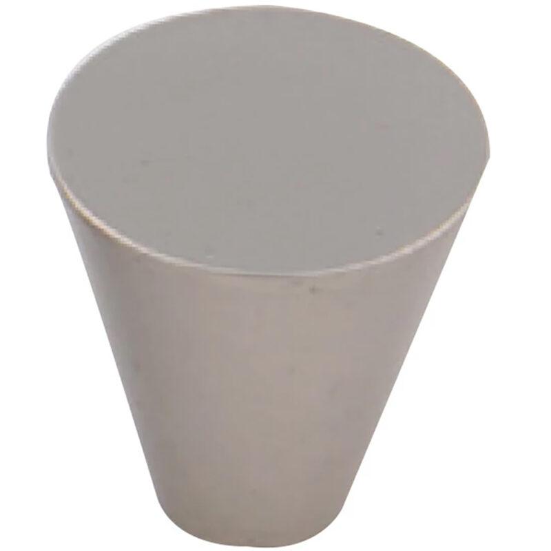 Furnware Dorset Evora Satin Nickel 19mm Cone Knob Dst Dc1219 Sn