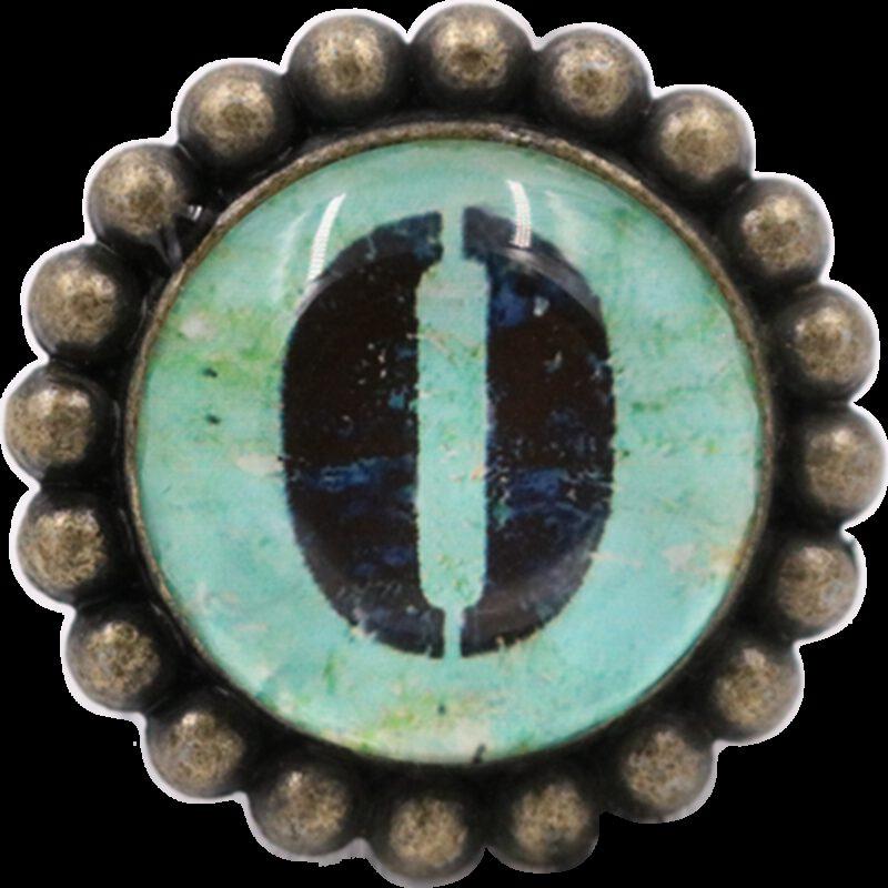 4995 Ashenvale Varema Vintage Patina Number Series Zero Antique Brass 42mm Round Glass Knob
