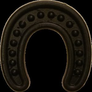 5322 Ashenvale Antique Black 36mm Horseshoe Shaped Knob
