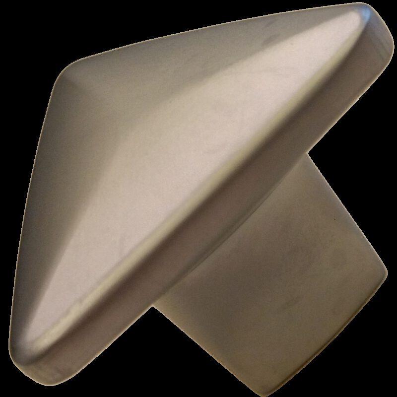 5327 Triantan Brushed Nickel 33mm Flat Triangle Pyramid Shaped Knob