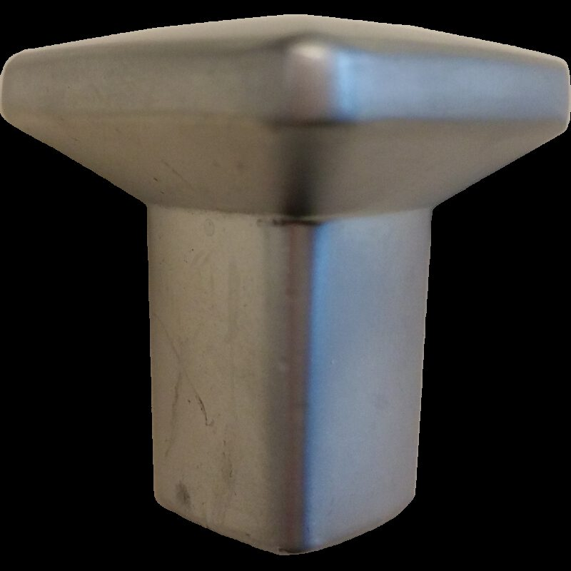 5328 Triantan Brushed Nickel 33mm Flat Triangle Pyramid Shaped Knob