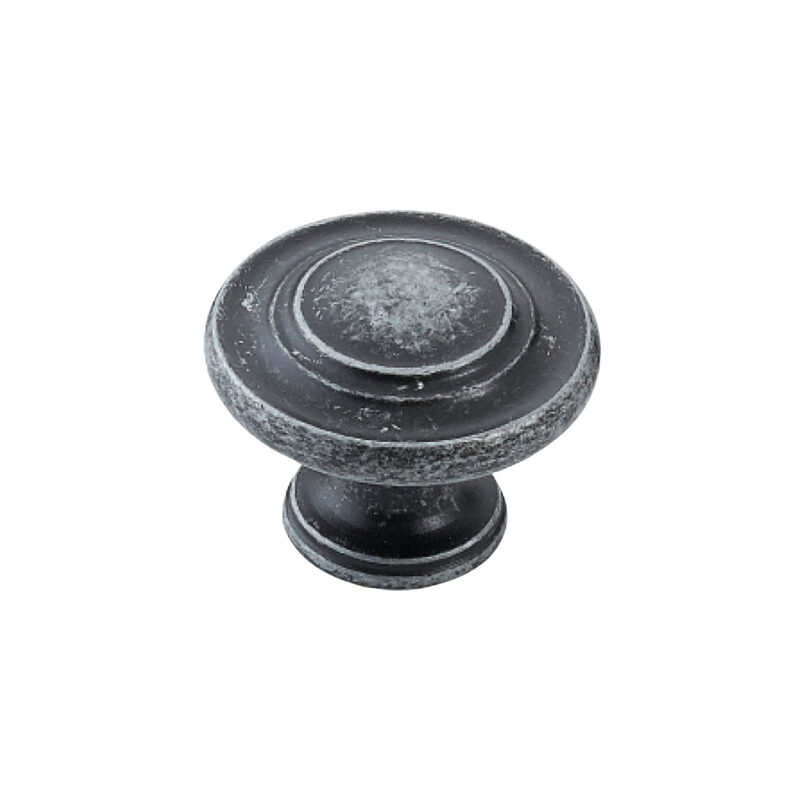 Furnware Dorset Florencia Shaker Charcoal 33mm Concentric Fluted Knob Dst Ctck Ch 1