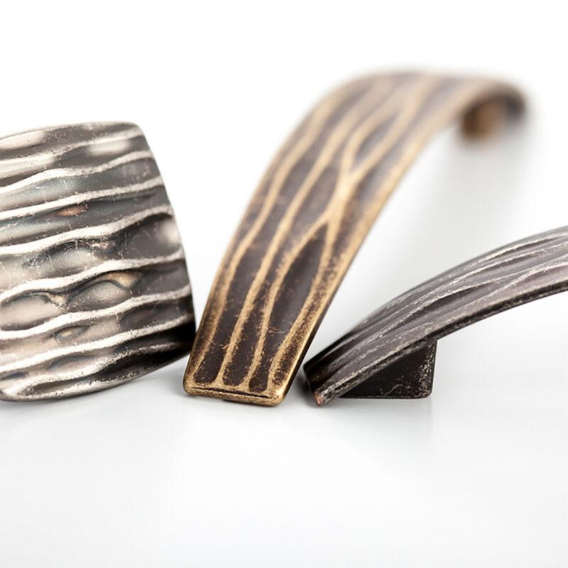 Castella Artisan Ripple Range Handles Knobs