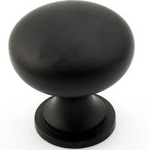 Castella Nostalgia Kennedy Matt Black 30mm Knob 050 030 04