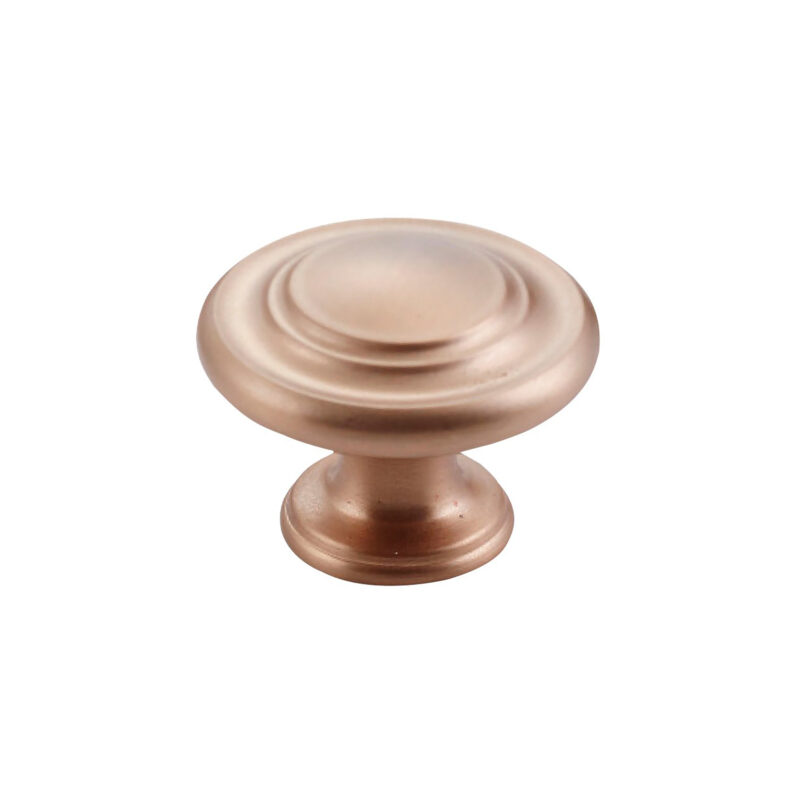 Furnware Dorset Florencia Shaker Champagne 33mm Concentric Fluted Knob Dst Ctck Chm 1