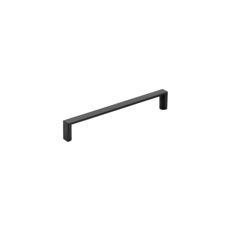 Furnware Dorset Dallas Collection Matt Black 160mm Square D Pull Handle Dst Fdh160 Mbl2