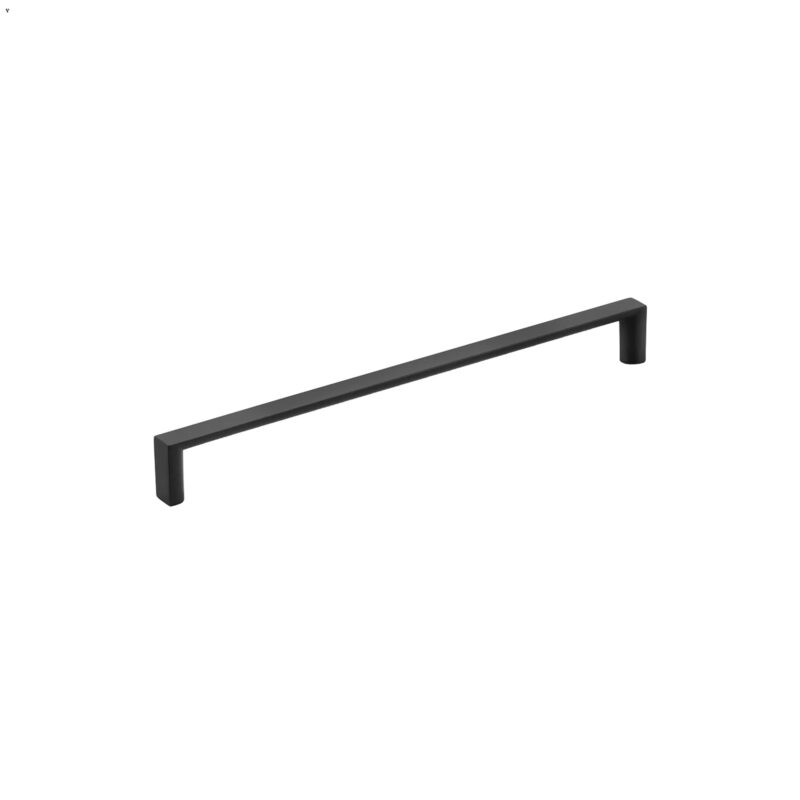 Furnware Dorset Dallas Collection Matt Black 224mm Square D Pull Handle Dst Fdh224 Mbl2