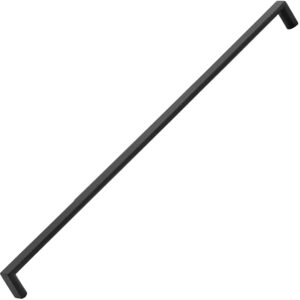 Furnware Dorset Dallas Collection Matt Black 448mm Square D Pull Handle Dst Fdh448 Mbl Fg