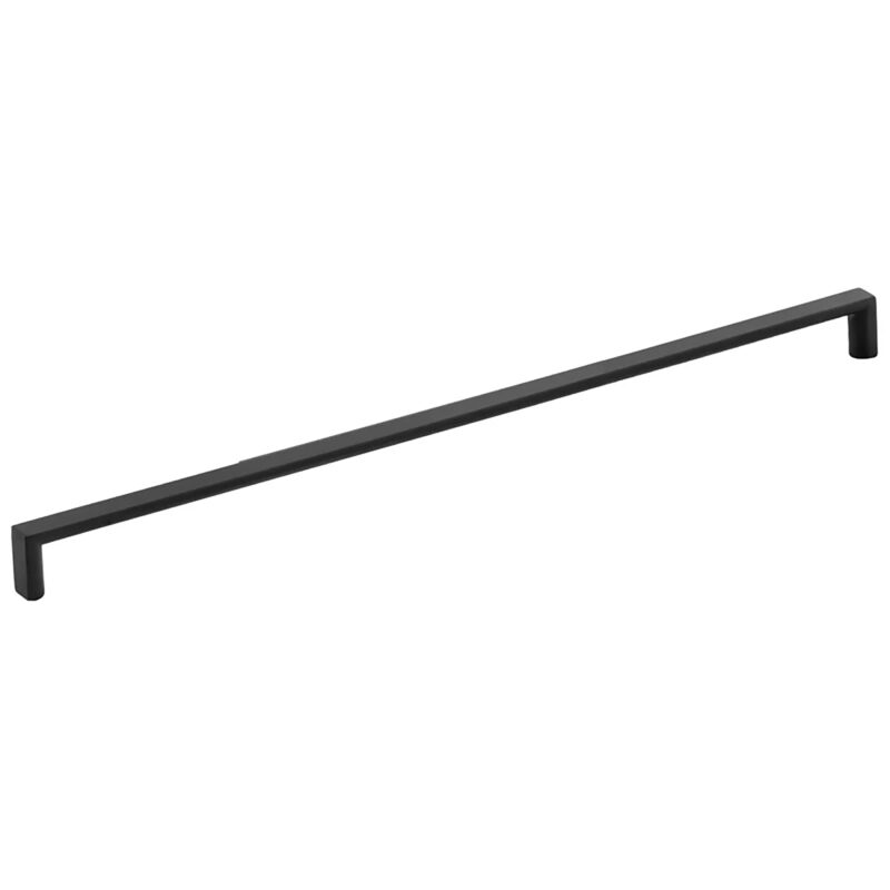Furnware Dorset Dallas Collection Matt Black 448mm Square D Pull Handle Dst Fdh448 Mbl Fg2